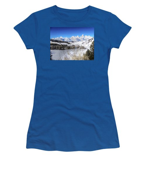 The Tetons From Gros Ventre Valley Women's T-Shirt