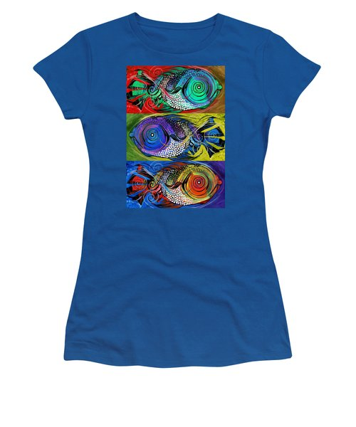 The Three Fishes Women's T-Shirt