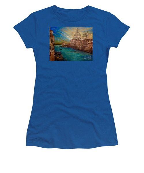 The Venice Of My Recollection With Digital Enhancement Women's T-Shirt (Athletic Fit)