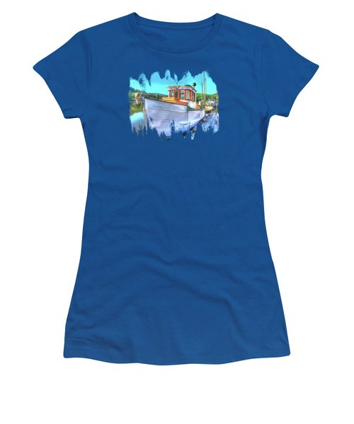 Thee Old Dragger Boat Women's T-Shirt (Athletic Fit)