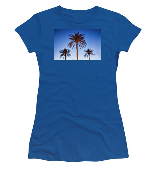 Three Palms Women's T-Shirt (Athletic Fit)