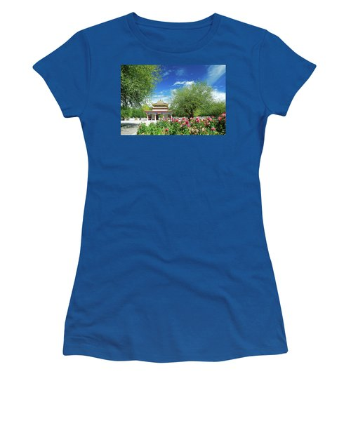Tibet Scenery In Autumn Women's T-Shirt