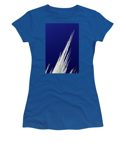 Tilted Ice Women's T-Shirt (Athletic Fit)