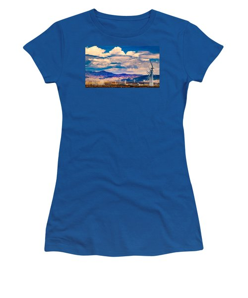Tilting At Windmills Women's T-Shirt
