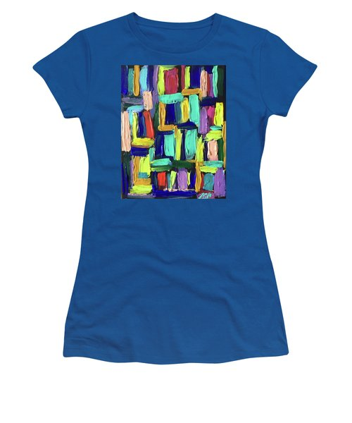 Times Square Nighttime Women's T-Shirt (Athletic Fit)