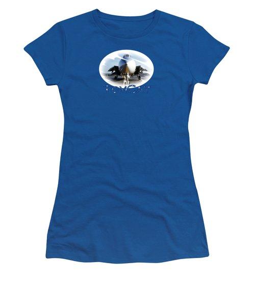 Tomcat Women's T-Shirt (Junior Cut) by DJ Florek