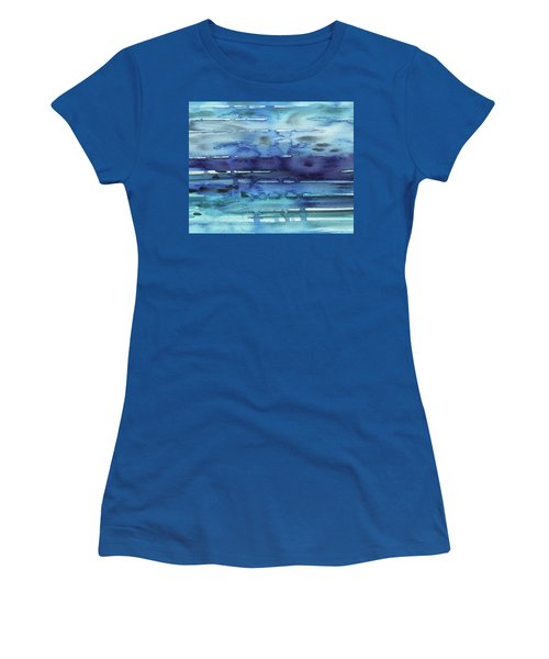 Abstract Seascape Reflections Women's T-Shirt