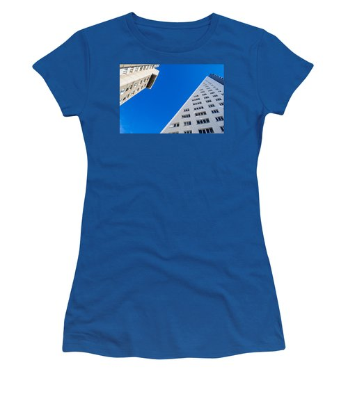 Triangle Modern Building Women's T-Shirt