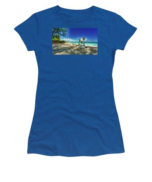 Tropical Beach Chair Women's T-Shirt