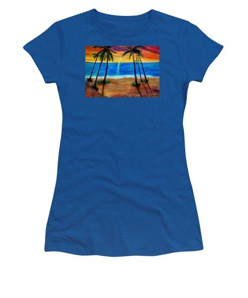 Tropical Paradise Women's T-Shirt