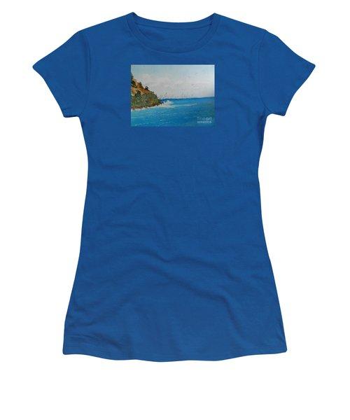 Tropical Paradise Women's T-Shirt (Athletic Fit)
