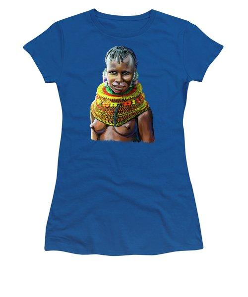 Turkana Girl Women's T-Shirt (Athletic Fit)