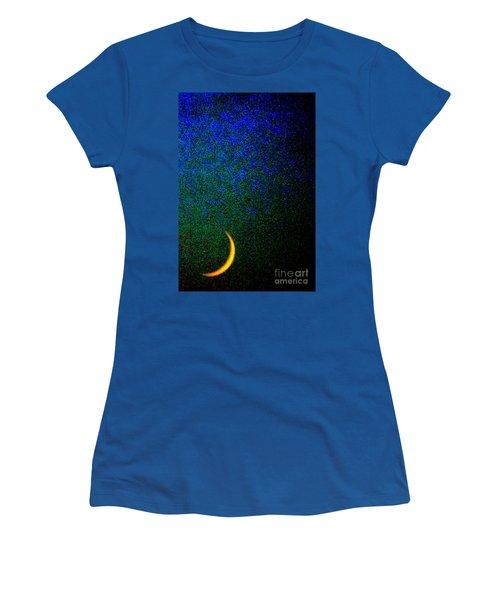 Cornicopial Cresent Moon  Women's T-Shirt (Athletic Fit)