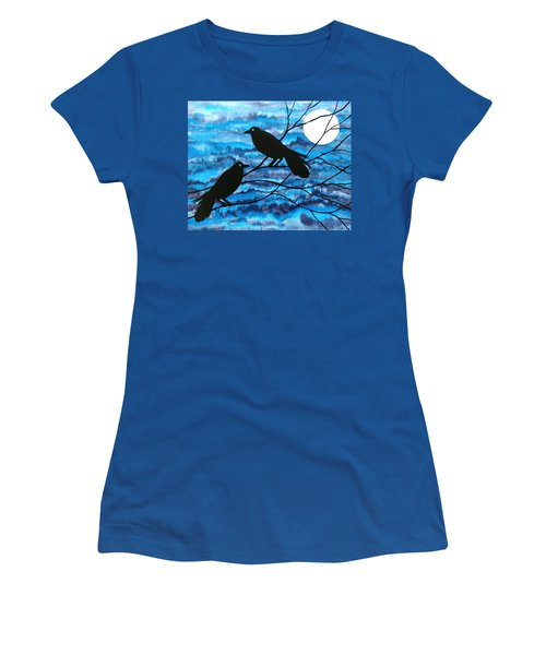 Two Ravens Women's T-Shirt (Athletic Fit)