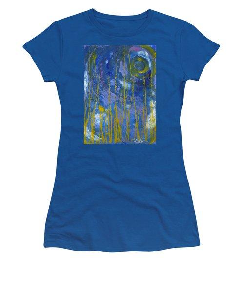 Women's T-Shirt (Junior Cut) featuring the photograph Under The Ocean by Rachel Hames