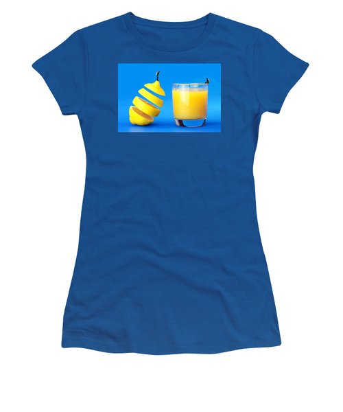 Underwater Diving On A Floating Orange Women's T-Shirt
