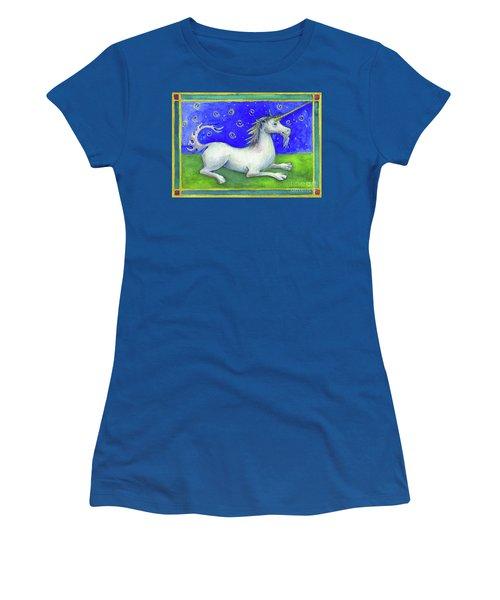 Unicorn Women's T-Shirt (Athletic Fit)