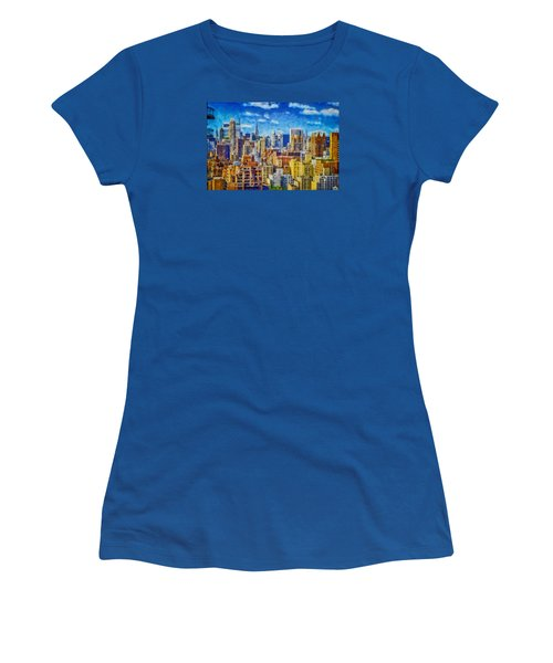Upper Eastside Skyline Women's T-Shirt (Athletic Fit)