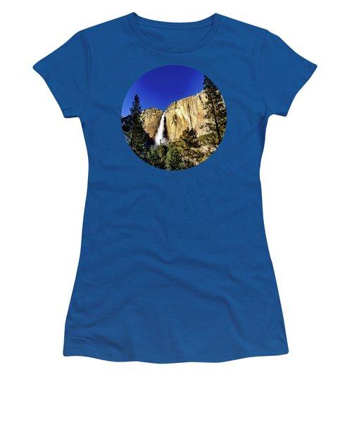 Upper Falls Women's T-Shirt (Junior Cut) by Adam Morsa