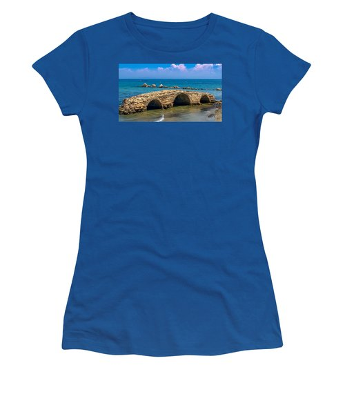 Venitian Bridge Argassi Women's T-Shirt (Athletic Fit)