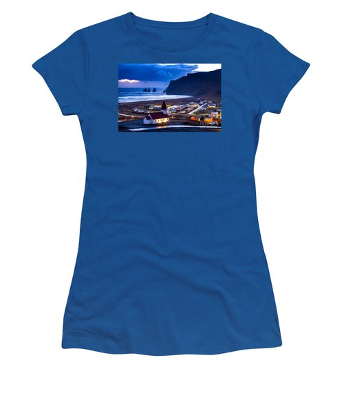 Vik Iceland Women's T-Shirt (Athletic Fit)