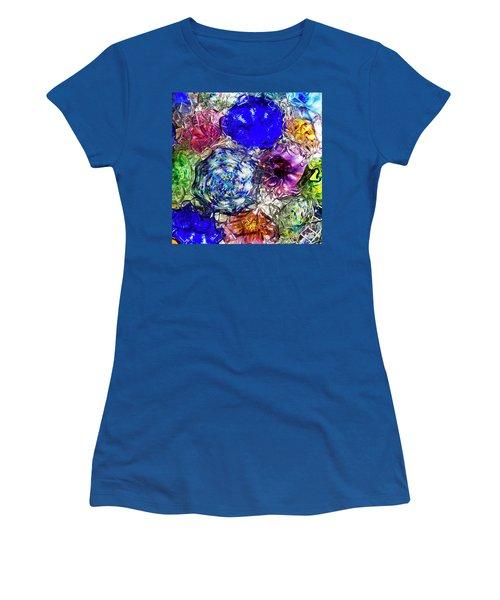 Vitreous Flora Women's T-Shirt (Junior Cut) by Gary Holmes