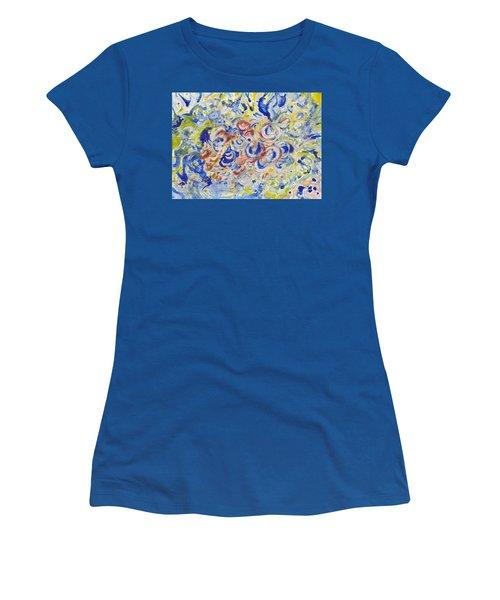 Volcanic Sea Acrylic/water Women's T-Shirt