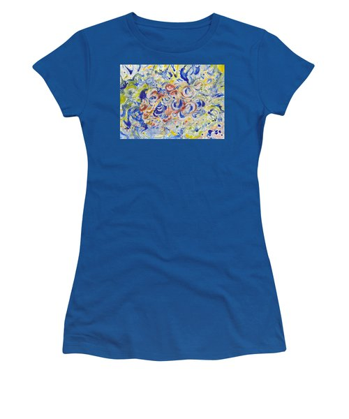 Volcanic Sea Acrylic/water Women's T-Shirt