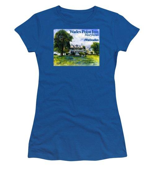 Wades Point Inn Shirt Women's T-Shirt (Athletic Fit)