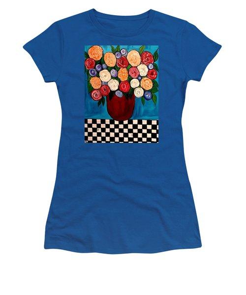 Waiting For My Turn Women's T-Shirt (Junior Cut) by Lisa Aerts