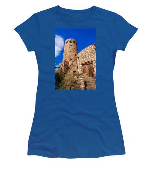 Women's T-Shirt (Junior Cut) featuring the photograph Watch Tower by Jerry Cahill