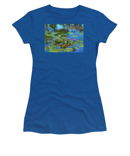 Water Lilies I Women's T-Shirt (Athletic Fit)