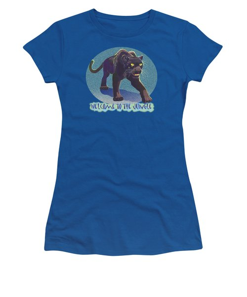 Welcome To The Jungle Women's T-Shirt (Athletic Fit)