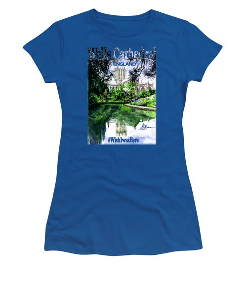 Wells Cathedral Shirt Women's T-Shirt (Athletic Fit)