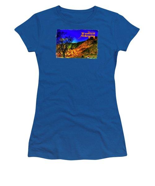 Western Nebraska Near Chimney Rock Women's T-Shirt