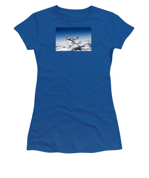 Westland Whirlwind Portrait Women's T-Shirt (Athletic Fit)