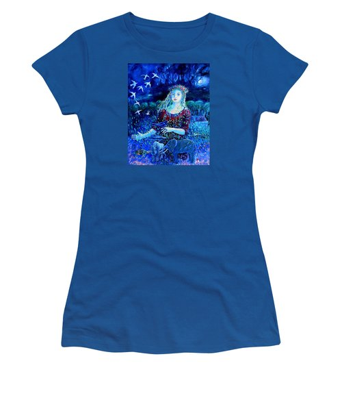 Whispers From The Future  Women's T-Shirt (Junior Cut) by Trudi Doyle