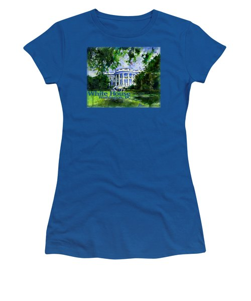 White House Dc Shirt Women's T-Shirt (Athletic Fit)