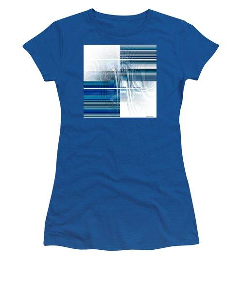 Window To Whirlpool Women's T-Shirt (Junior Cut) by Thibault Toussaint