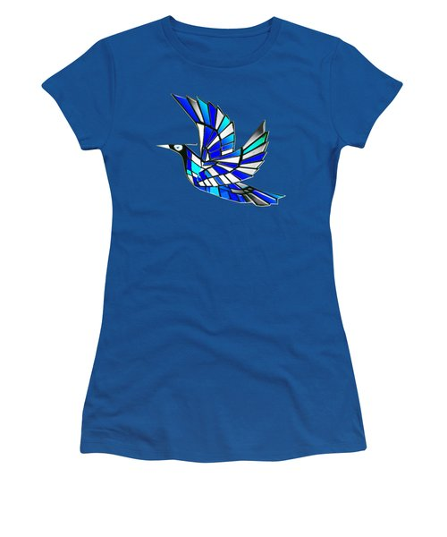 Women's T-Shirt (Junior Cut) featuring the digital art Wings by Asok Mukhopadhyay