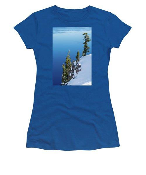 Winter At Crater Lake Women's T-Shirt
