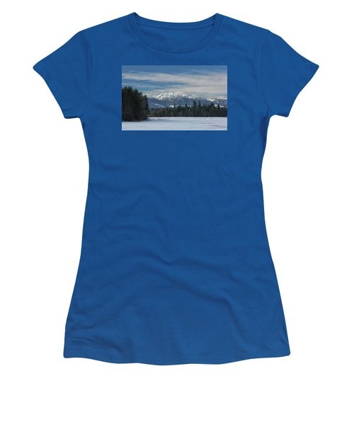 Women's T-Shirt (Junior Cut) featuring the photograph Winter by Randy Hall