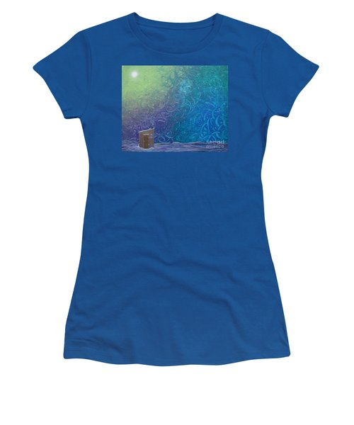 Winter Solitude 2 Women's T-Shirt (Junior Cut) by Jacqueline Athmann