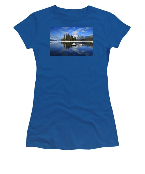 Winters Mirror Women's T-Shirt (Junior Cut) by Lynn Hopwood