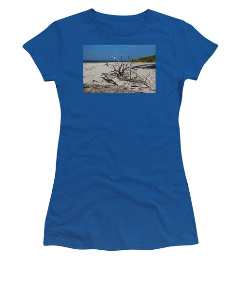 Women's T-Shirt (Athletic Fit) featuring the photograph Wistful But Unwavering by Michiale Schneider