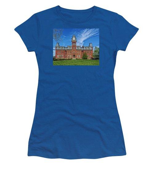 Woodburn Hall - West Virginia University Women's T-Shirt