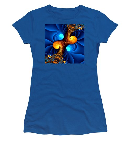 Wormhole Women's T-Shirt (Junior Cut) by Svetlana Nikolova