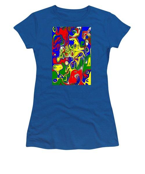 Women's T-Shirt (Junior Cut) featuring the digital art Yage by Maciek Froncisz