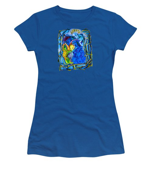 Yeti And The Mermaid Series I Don't You See? Women's T-Shirt (Junior Cut) by Joanna Whitney