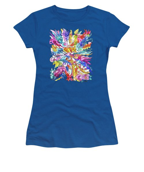Zentangle-off The Cuff Women's T-Shirt